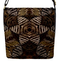 Golden Animal Print Pattern  Removable Flap Cover (small)