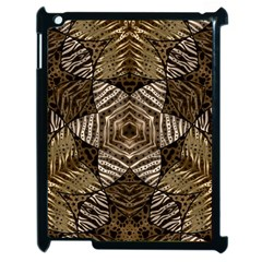Golden Animal Print  Apple Ipad 2 Case (black)