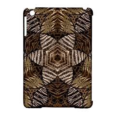 Golden Animal Print  Apple Ipad Mini Hardshell Case (compatible With Smart Cover)