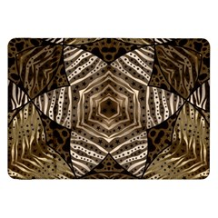 Golden Animal Print  Samsung Galaxy Tab 8 9  P7300 Flip Case