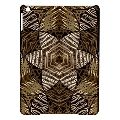 Golden Animal Print  Apple Ipad Air Hardshell Case