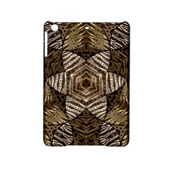 Golden Animal Print  Apple Ipad Mini 2 Hardshell Case
