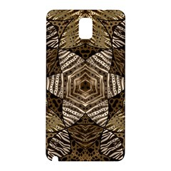 Golden Animal Print  Samsung Galaxy Note 3 N9005 Hardshell Back Case