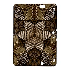 Golden Animal Print  Kindle Fire HDX 8.9  Hardshell Case