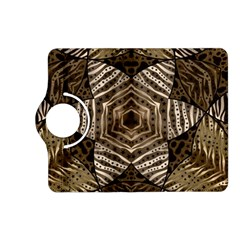 Golden Animal Print  Kindle Fire Hd (2013) Flip 360 Case