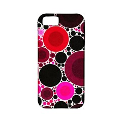 Retro Polka Dot  Apple Iphone 5 Classic Hardshell Case (pc+silicone)