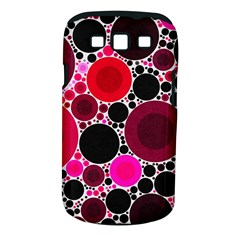 Retro Polka Dot  Samsung Galaxy S III Classic Hardshell Case (PC+Silicone)