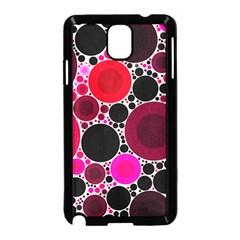 Retro Polka Dot  Samsung Galaxy Note 3 Neo Hardshell Case (Black)