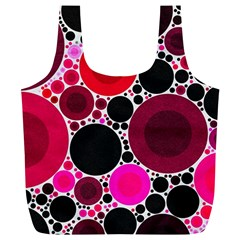 Retro Polka Dot  Reusable Bag (XL)