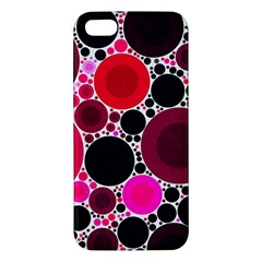 Retro Polka Dot  Iphone 5s Premium Hardshell Case