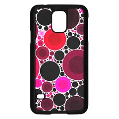 Retro Polka Dot  Samsung Galaxy S5 Case (Black)