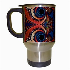 Beautiful Fractal Twirls  Travel Mug (white)