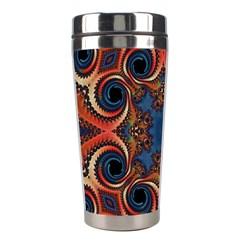 Beautiful Fractal Twirls  Stainless Steel Travel Tumbler