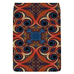 Beautiful Fractal Kelidescopee  Removable Flap Cover (small)
