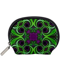 Purple Meets Green Accessory Pouch (Small)