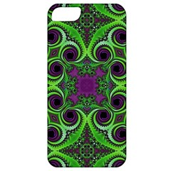 Purple Meets Green Apple Iphone 5 Classic Hardshell Case
