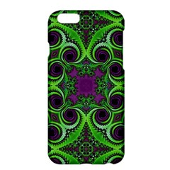 Purple Meets Green Apple iPhone 6 Plus Hardshell Case