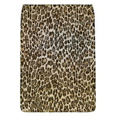 Chocolate Leopard  Removable Flap Cover (Large)