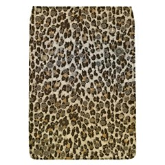 Chocolate Leopard  Removable Flap Cover (Small)