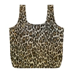Chocolate Leopard  Reusable Bag (L)