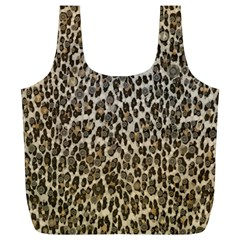 Chocolate Leopard  Reusable Bag (XL)