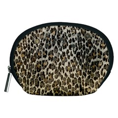 Chocolate Leopard  Accessory Pouch (medium)