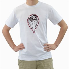 7 Gates Graffix Men s Two-sided T-shirt (White)