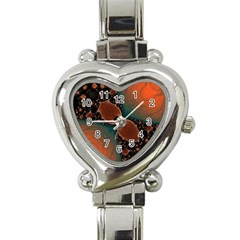 Elegant Delight Heart Italian Charm Watch