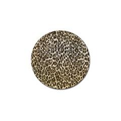 Chocolate Leopard  Golf Ball Marker 10 Pack