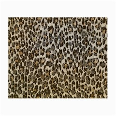 Chocolate Leopard  Glasses Cloth (Small, Two Sided)