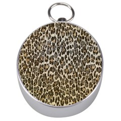 Chocolate Leopard  Silver Compass