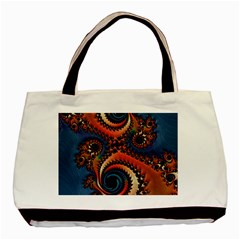 Dragon  Twin Sided Black Tote Bag