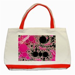 Pink Cotton Kandy  Classic Tote Bag (red)