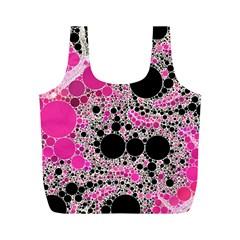 Pink Cotton Kandy  Reusable Bag (M)