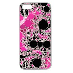 Pink Cotton Kandy  Apple Seamless Iphone 5 Case (clear)