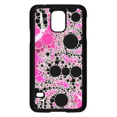 Pink Cotton Kandy  Samsung Galaxy S5 Case (black)