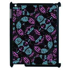 Ornate Dark Pattern  Apple Ipad 2 Case (black)