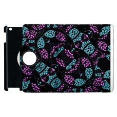 Ornate Dark Pattern  Apple iPad 2 Flip 360 Case