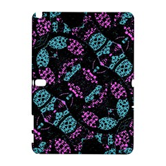 Ornate Dark Pattern  Samsung Galaxy Note 10.1 (P600) Hardshell Case