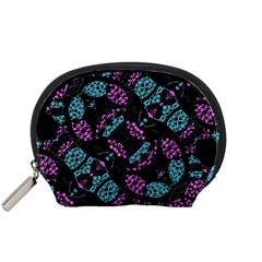 Ornate Dark Pattern  Accessory Pouch (small)