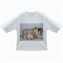 Giant Spider Fights Lion  Baby T-shirt