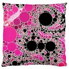 Pink Cotton Kandy  Large Cushion Case (single Sided)