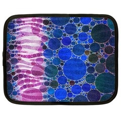 Crazy Zebra  Netbook Sleeve (large)