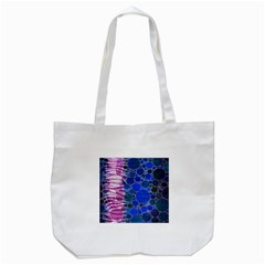 Crazy Zebra  Tote Bag (White)