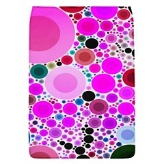 Bubble Gum Polkadot  Removable Flap Cover (small)
