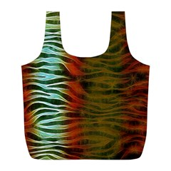 Earthy Zebra Reusable Bag (L)