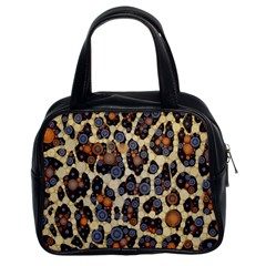 Cheetah Abstract Classic Handbag (two Sides)