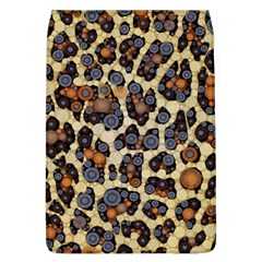 Cheetah Abstract Removable Flap Cover (large)