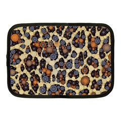 Cheetah Abstract Netbook Sleeve (medium)