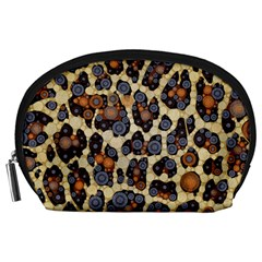 Cheetah Abstract Accessory Pouch (Large)